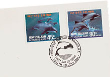 Stamp - Hector's Dolphin
